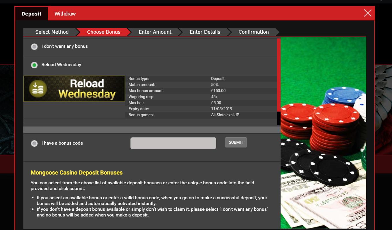 reload-wednesday-mongoose-casino-45x-screenshot