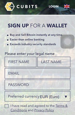 cubits-bitcoin-registration-mobile